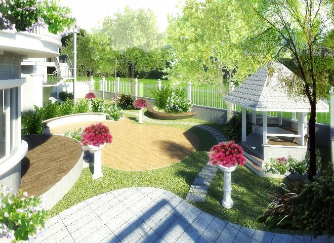 Cách thiết kế sân vườn hợp phong thủy