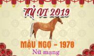 Xem tử vi tuổi Mậu Ngọ (1978) năm 2019 nữ mạng