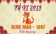 Xem tử vi tuổi Đinh Mão (1987) năm 2019 nữ mạng